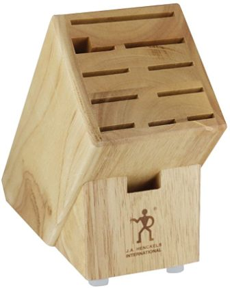 Henckels International Hardwood Knife Block