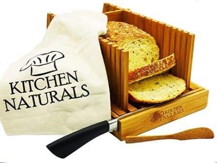 Kitchen Naturals Premium Bamboo Bread Slicer