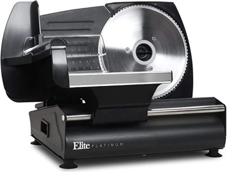 Maxi-Matic Elite Platinum EMT-625B Food Slicer