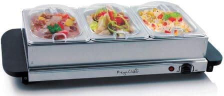 MegaChef Buffet Server & Food Warmer, MC-9003B