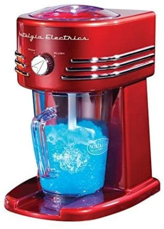 Nostalgia FBS400RETRORED Retro Frozen Beverage Station