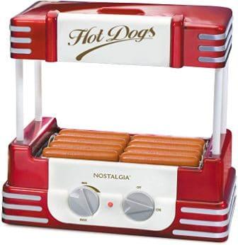 Nostalgia HDR8RR Hot Dog Cooker