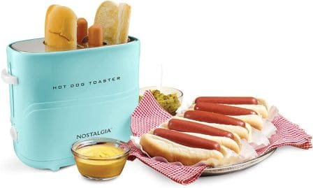 Nostalgia HDT600 Pop-Up Hot Dog Cooker
