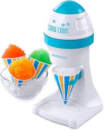Nostalgia ISM1000 Electric Snow Cone Machine