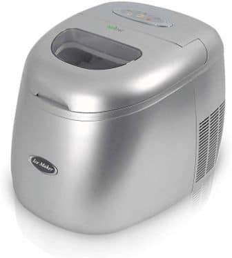 NutriChef Easy to Clean Quick & Quiet Ice Maker