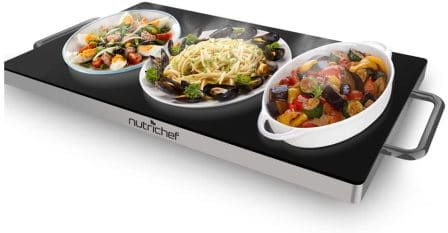 NutriChef Electric Hot Plate PKWTR45