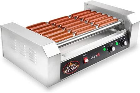 Olde Midway Electric Hot Dog Cooker