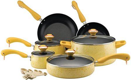 Paula Deen Signature Cookware Pots and Pans Set