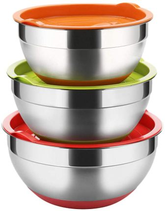 Regiller Mixing Bowls – Stainless Steel