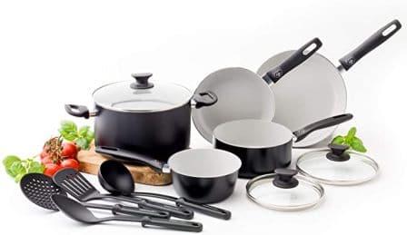 Saflon Titanium Nonstick Cookware Set