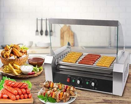 Safstar Commercial Hot Dog Cooker