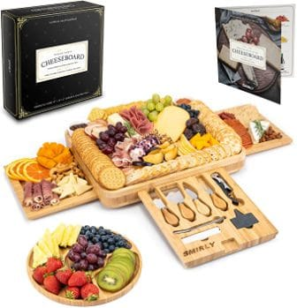 Smirly Wood Charcuterie Platter