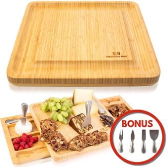 Sugarwood Home Cheese Board Set