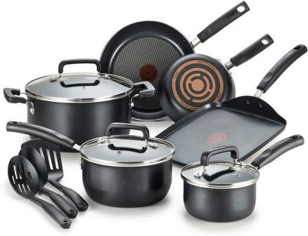 T-fal C530SC Signature Nonstick Cookware Set
