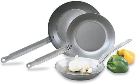 Vollrath 58920 Carbon Steel 11-inch Fry Pan