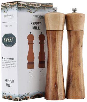 Wooden Salt and Pepper Grinder by VRVRGD