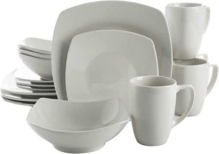 Zen Buffet Square Dinnerware Set by Gibson