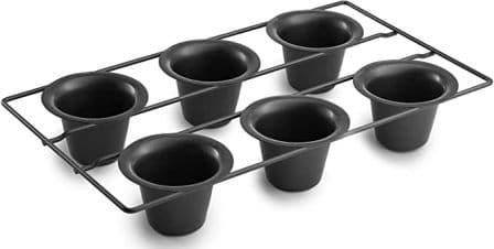 Bellemain 6 Cup Nonstick Popover Pan