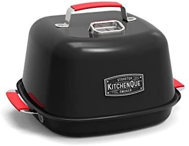 Charcoal Companion KitchenQue Stovetop Indoor Smoker (CC4132)
