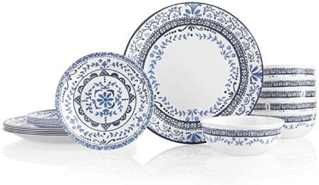 Corelle Style 18-Piece Everyday Dishes