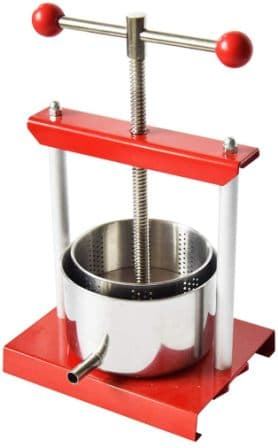 EJWOX Stainless Steel Fruit and Wine Press