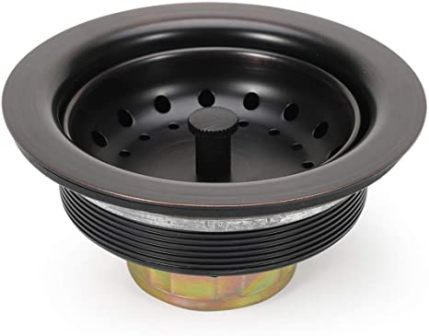 KONE Sink Drain Assembly – Basket Strainer Stopper with Drain Assembly