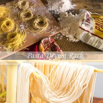 Detachable for Easy Cleaning Noodle Spaghetti Dryer Stand for up to 6 lbs of Homemade Noodles Rotary Arms for Easy transfer Collapsible Pasta Drying Rack-Compact for Easy Storage