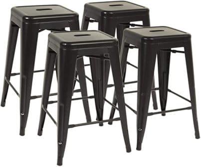 FDW Metal Barstools