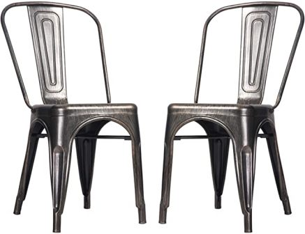 Merax Metal Dining Chairs
