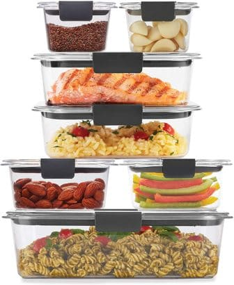Rubbermaid Brilliance 14-Piece Food Storage Containers