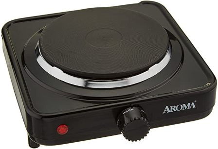 Aroma Housewares Single Coil Electric Burner