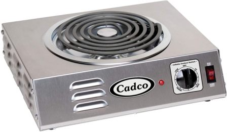 Cadco CSR-3T Single Burner for Canning