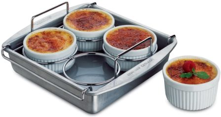 Chicago Metallic Professional 6-pc Crème Brulee Ramekin Set