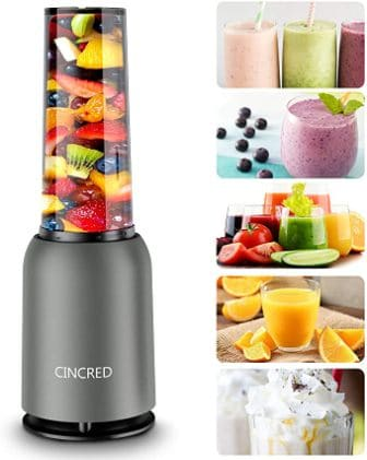 Cincred Personal Countertop Blender for Milkshakes