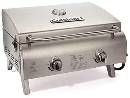 Cuisinart CGG-306 Propane Tabletop Grill (Top-pick review)