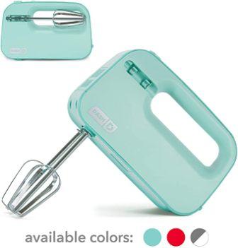 Dash Smart Store Compact Hand Mixer