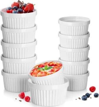 DeeCoo Store 12-pc Porcelain Ramekin Set
