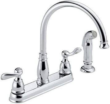 Delta Windemere: Two Handle Kitchen Faucet