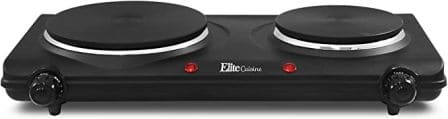 Elite Gourmet Hot Plate for Versatile Cooking