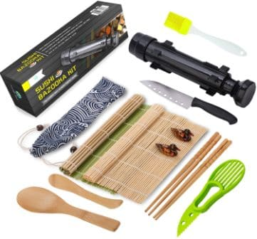 Fungyand All in One Sushi Making Kit (Top-pick review)