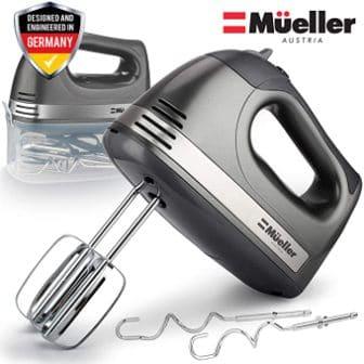 Mueller Austria 5-Speed Electric Hand Mixer