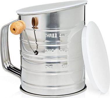 Natizo 3-Cup Flour Sifter