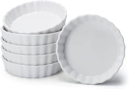 Sweese 509.001 Porcelain 6 oz Round Ramekins