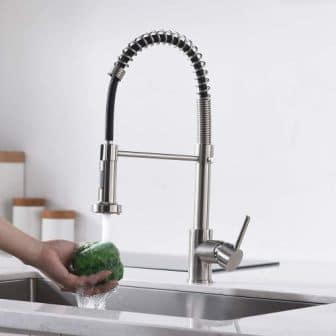 Top 15 Kitchen Faucets with Sprayer in 2020