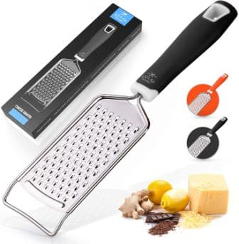 Zulay Kitchen Professional Cheese Grater