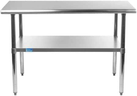 AmGood Stainless Steel Work Table