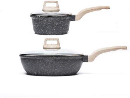 Carote 2-Pc Set with Eco-Friendly Granite Coating