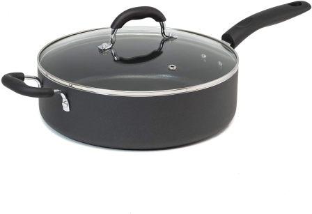 Goodful 5-Qt Diamond-Reinforced Jumbo Cooking Pan
