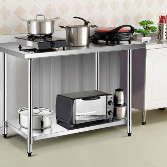 Top 15 Stainless Steel Kitchen Work Tables in 2020