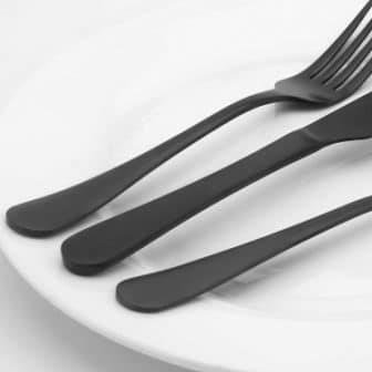 Top 15 Best Matte Black Silverware Set - Guide & Reviews 2020